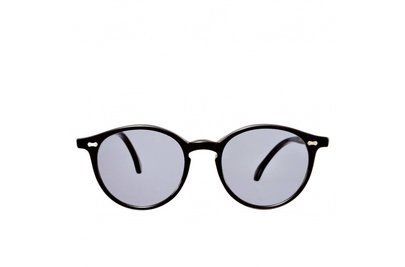The Bespoke Dudes Eyewear Cran Black / Gradient Grey
