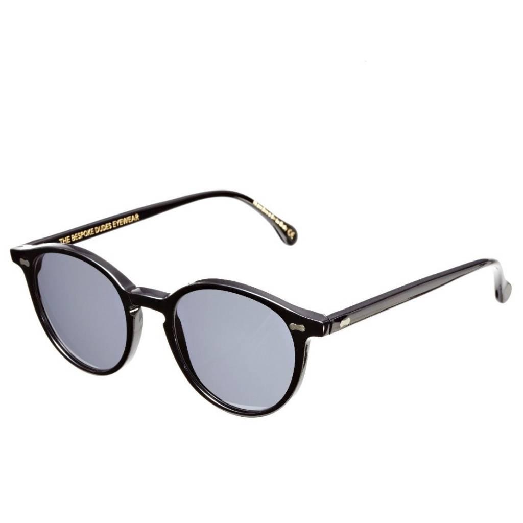 The Bespoke Dudes Eyewear The Bespoke Dudes Eyewear Cran Black / Gradient Grey