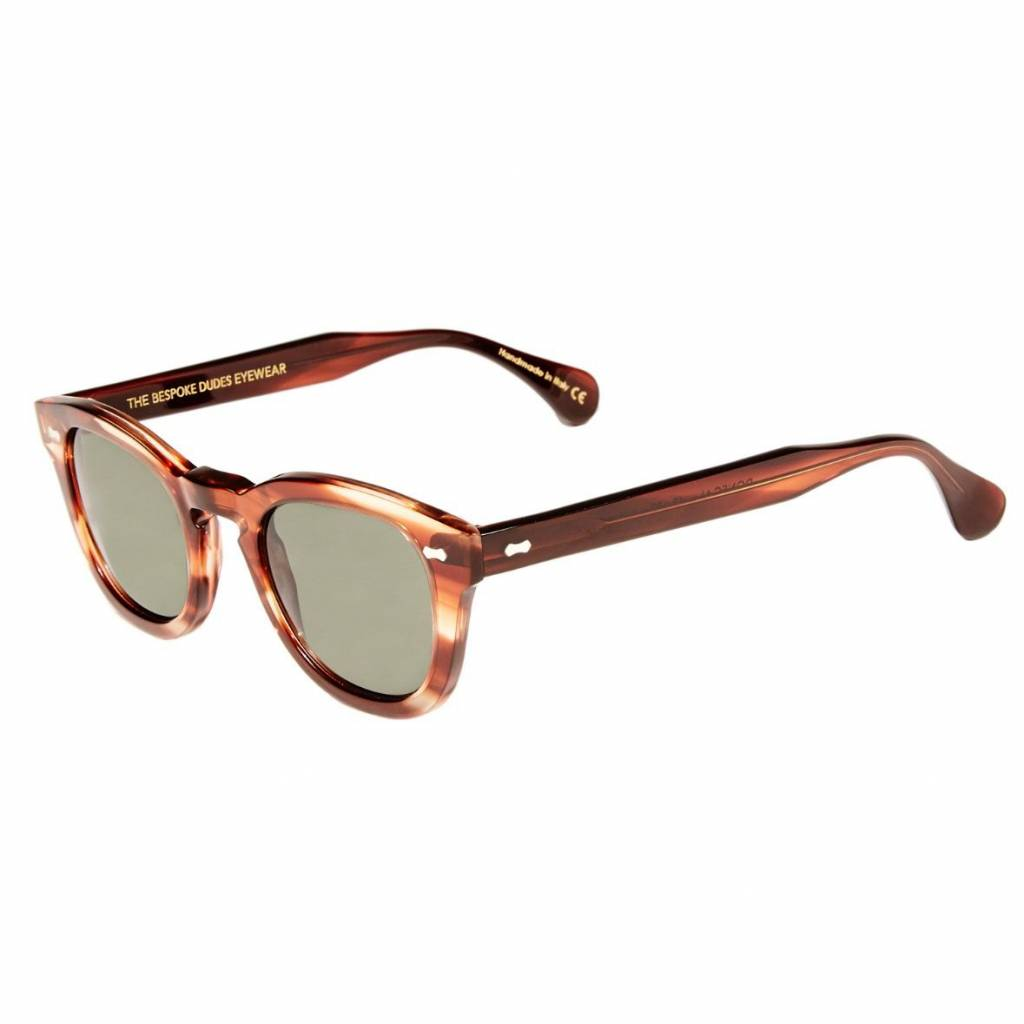 The Bespoke Dudes Eyewear The Bespoke Dudes Eyewear Donegal Havana / Bottle Green