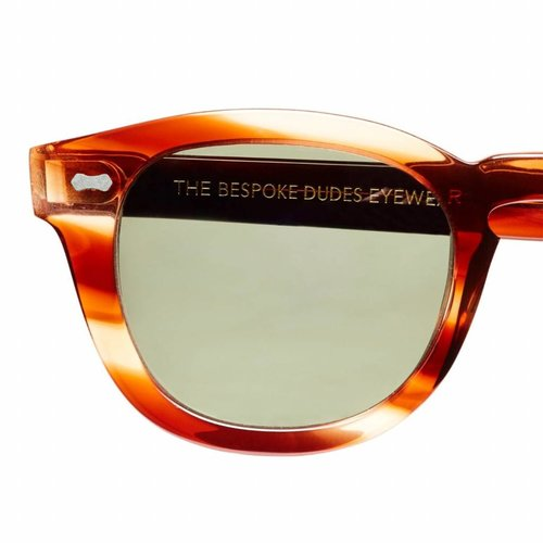 The Bespoke Dudes Eyewear Donegal - Havana / Bottle Green