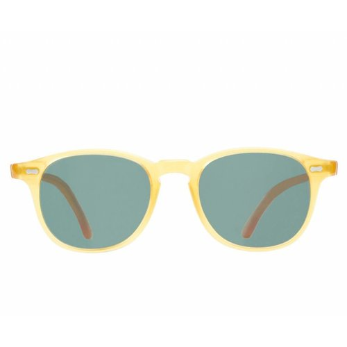 The Bespoke Dudes Eyewear Shetland - Honey / Bottle Green