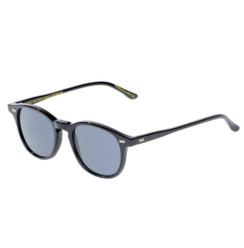 The Bespoke Dudes Eyewear The Bespoke Dudes Eyewear Shetland Black / Gradient Grey