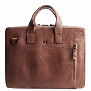 Capra Leather Roko - Tobacco