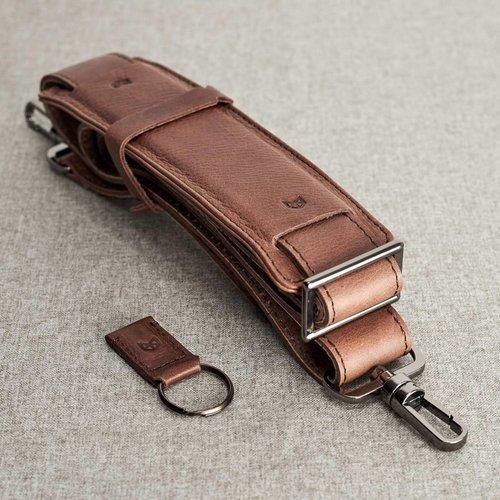 Capra Leather Roko - Tobacco