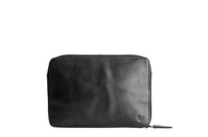 Capra Leather Gadget Organizer Black
