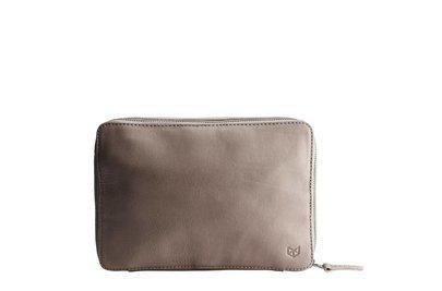 Capra Leather Gadget Organizer Grey