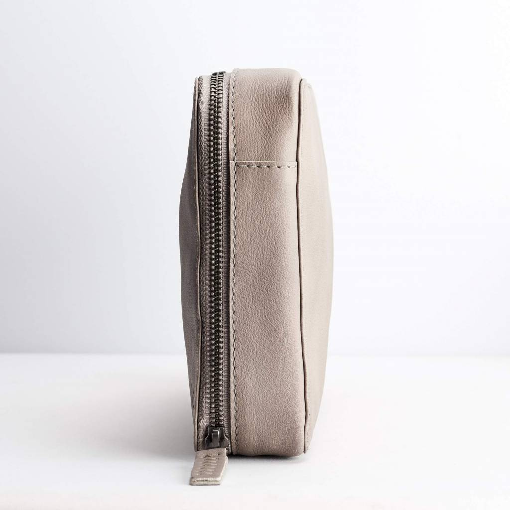 Capra Leather Capra Leather Gadget Organizer Grey