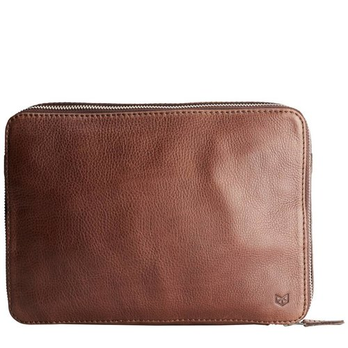 "Capra Leather 13"" Tech & Laptop Portfolio - Tobacco"