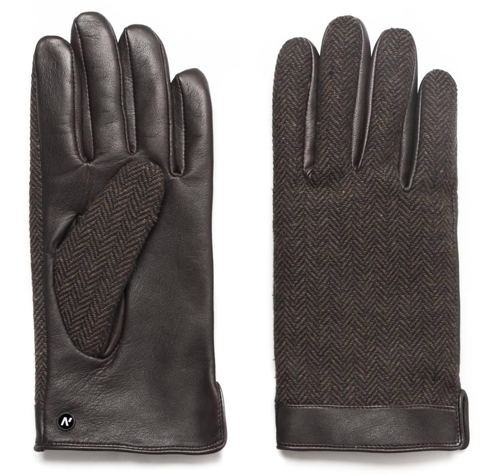Napo Gloves napoGENT Touchscreen Handschoenen Bruin