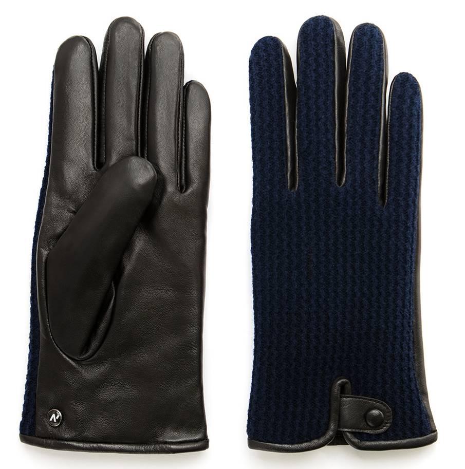 Napo Gloves napoWOOL Touchscreen Handschoenen Blauw