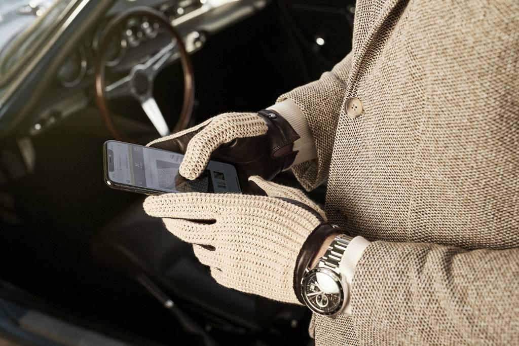 Napo Gloves napoCROCHET Touchscreen Handschoenen Bruin