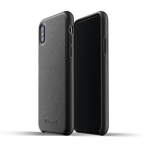 Mujjo Leather Case iPhone X / Xs - Black