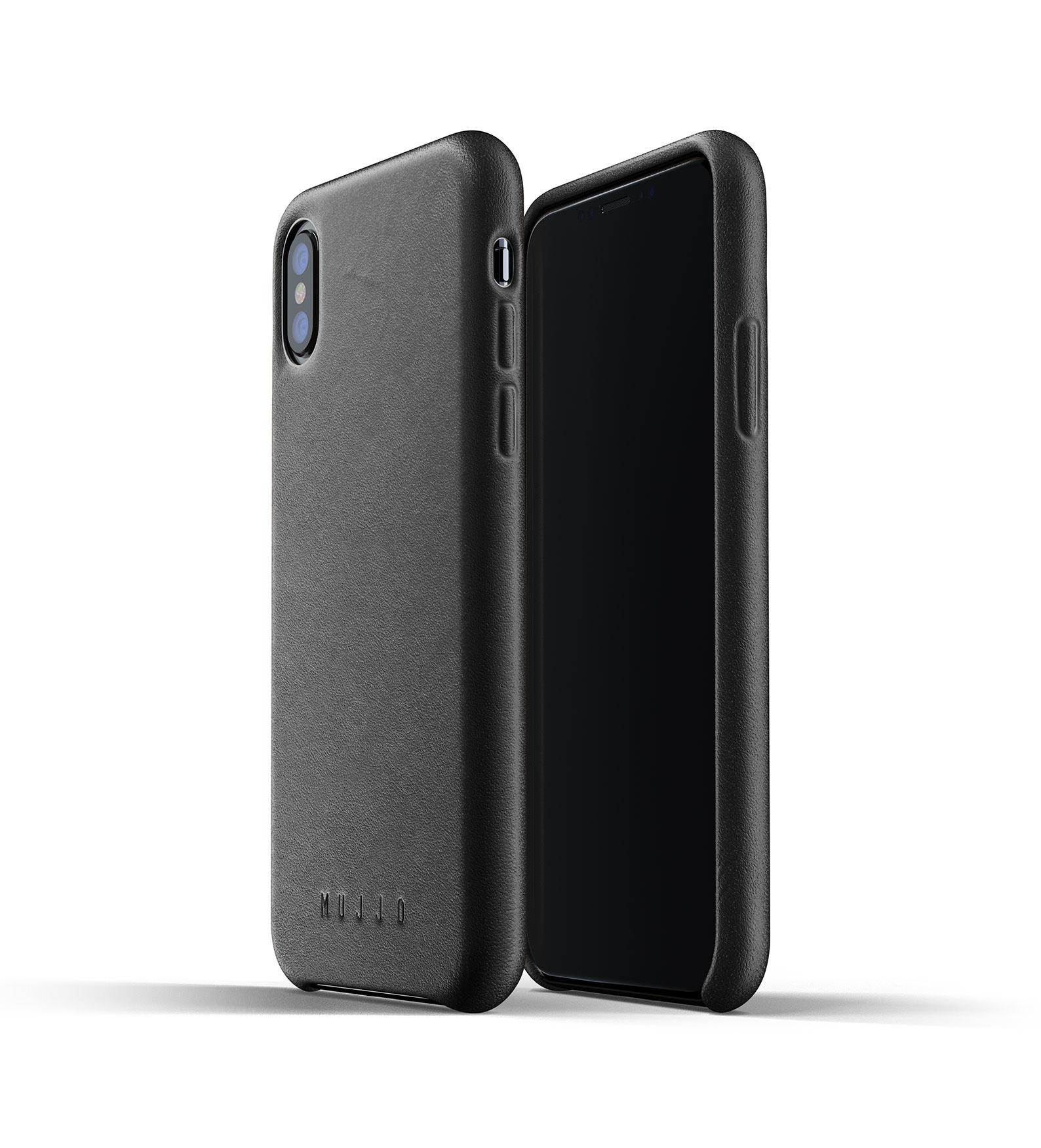 Leather Case iPhone X / Xs - Black