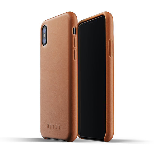 Mujjo Leather Case iPhone X / Xs - Brown