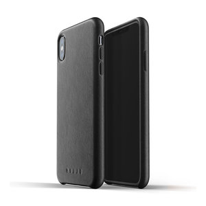 Mujjo Leather Case iPhone Xs Max - Black