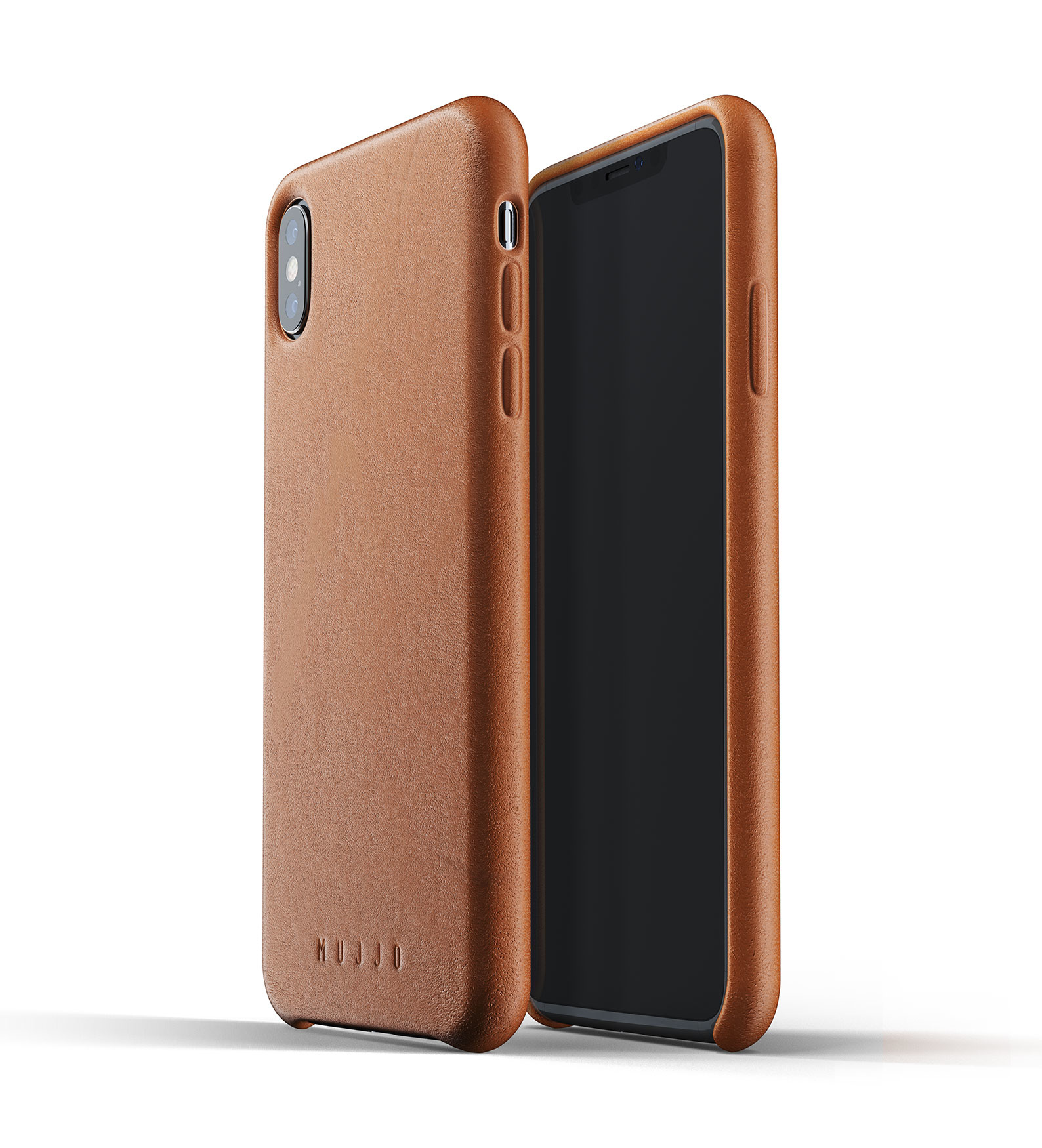 on sale a3d32 2a53d Mujjo Case Leather Case for iPhone Xs Max Brown