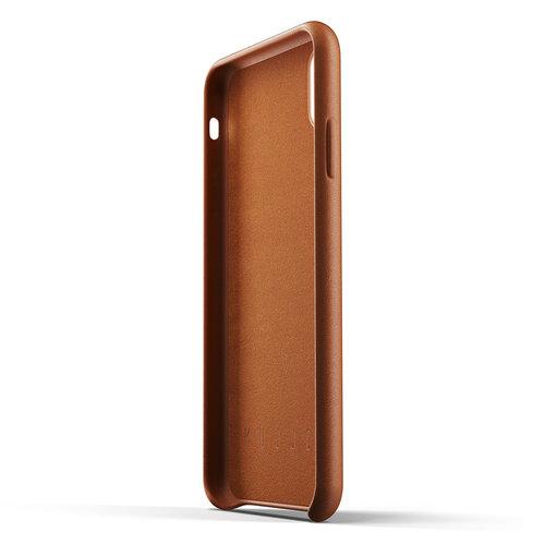 Mujjo Leren Hoesje iPhone Xs Max - Bruin