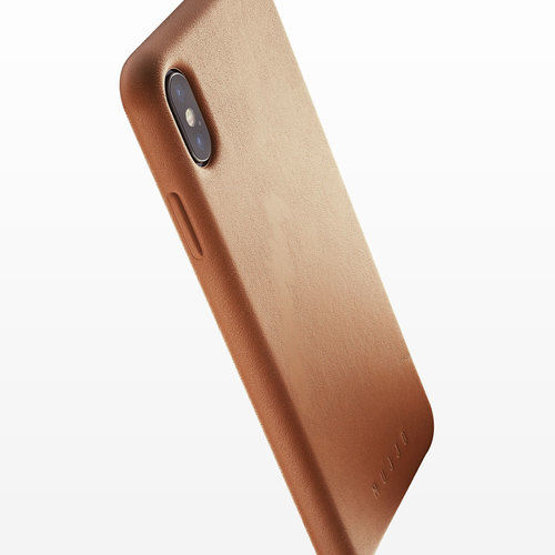 Mujjo Leather Case iPhone Xs Max - Brown