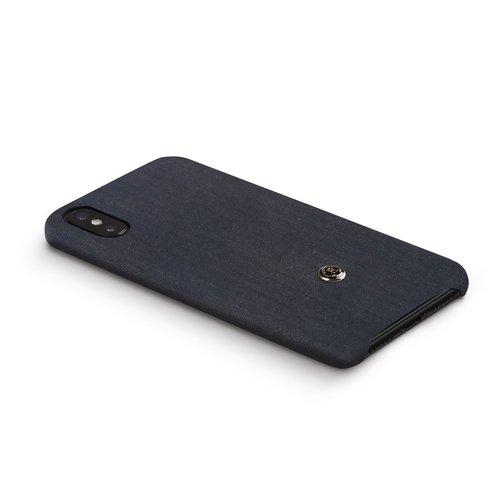 Revested iPhone X/Xs Max Hoesje - Herringbone Blue