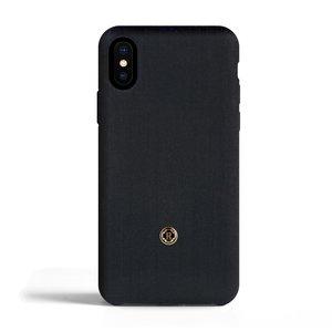 Revested iPhone X / Xs Max Case - Herringbone Blue
