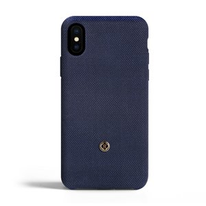 Revested iPhone X/Xs Max Hoesje - Bird's Eye Blue