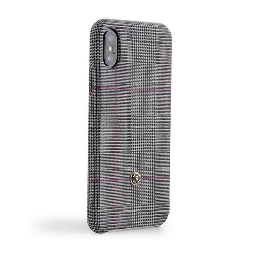 Revested iPhone X/Xs Hoesje - Prince of Wales