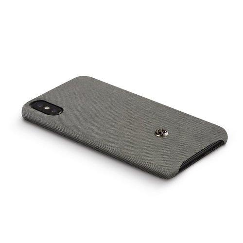 Revested iPhone X/Xs Hoesje - Titanium
