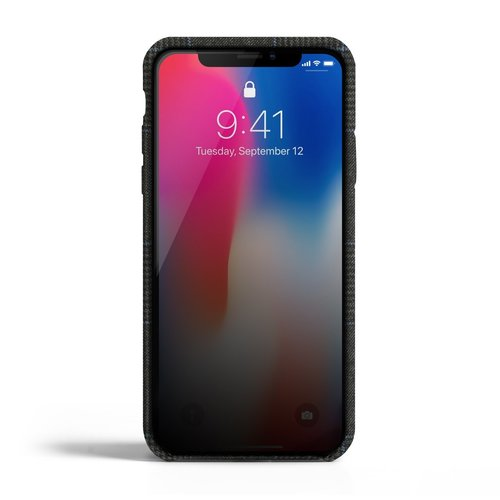 Revested iPhone X / Xs Case - Prince of Wales Capri