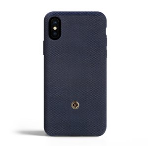 Revested iPhone X / Xs Case - Bird's Eye Blue
