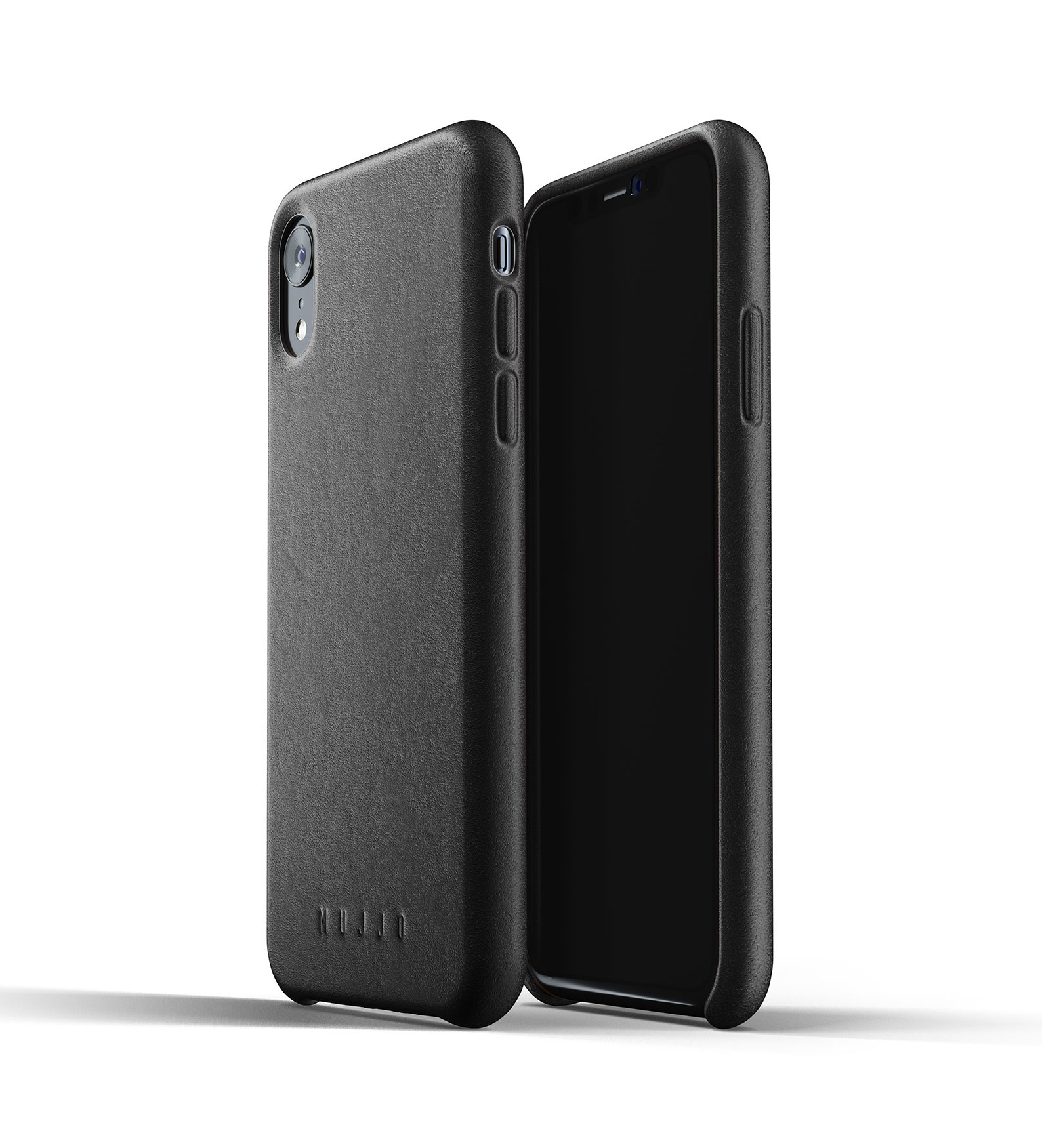 Leather Case for iPhone Xr - Black