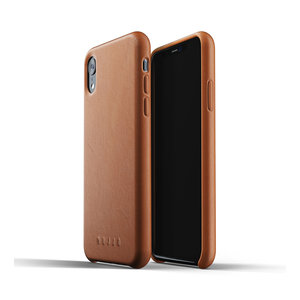 Mujjo Leather Case for iPhone Xr - Brown