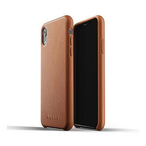 Mujjo Leren Hoesje iPhone Xr - Bruin