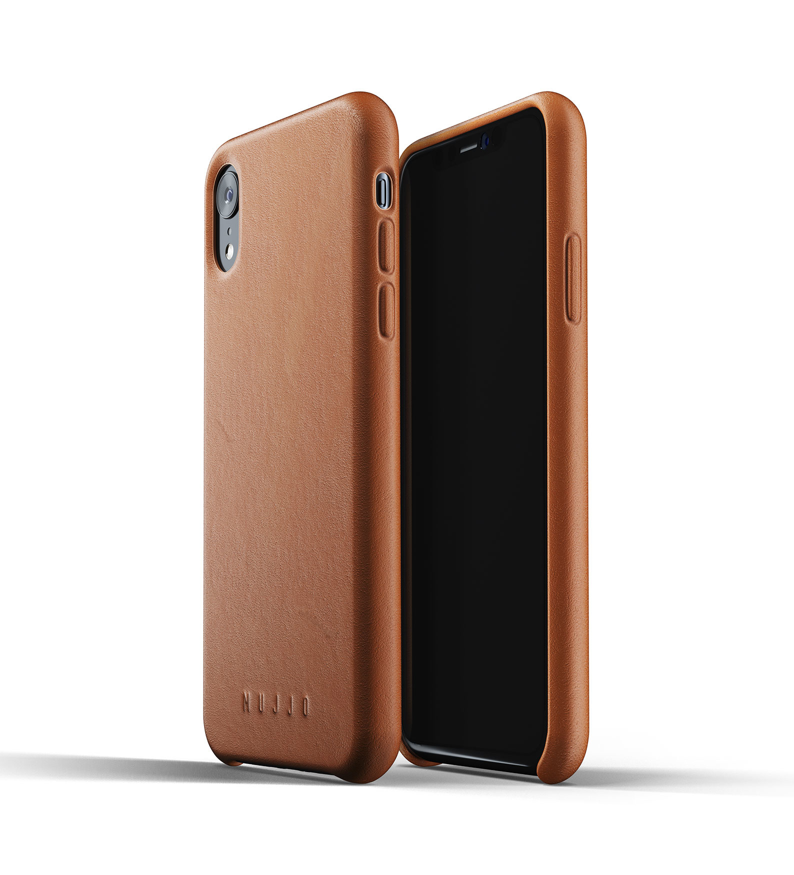 Leather Case iPhone Xr - Brown