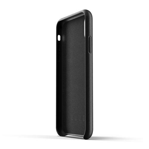 Mujjo Leather Wallet iPhone Xr - Black