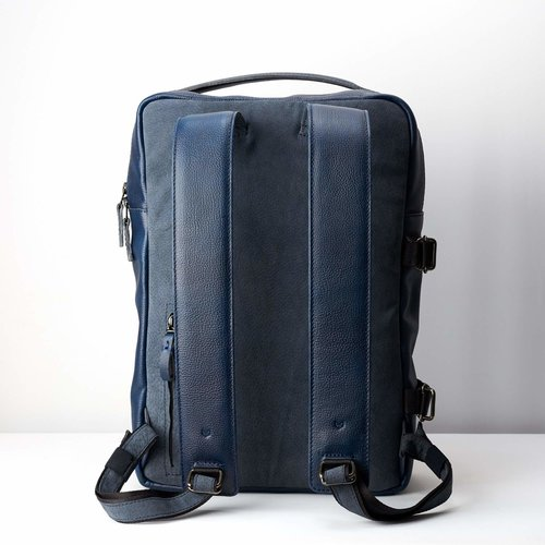 Capra Leather Tamarao - Ocean Blue
