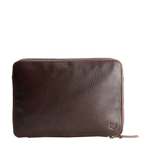 Capra Leather Gadget Organizer - Dark Brown