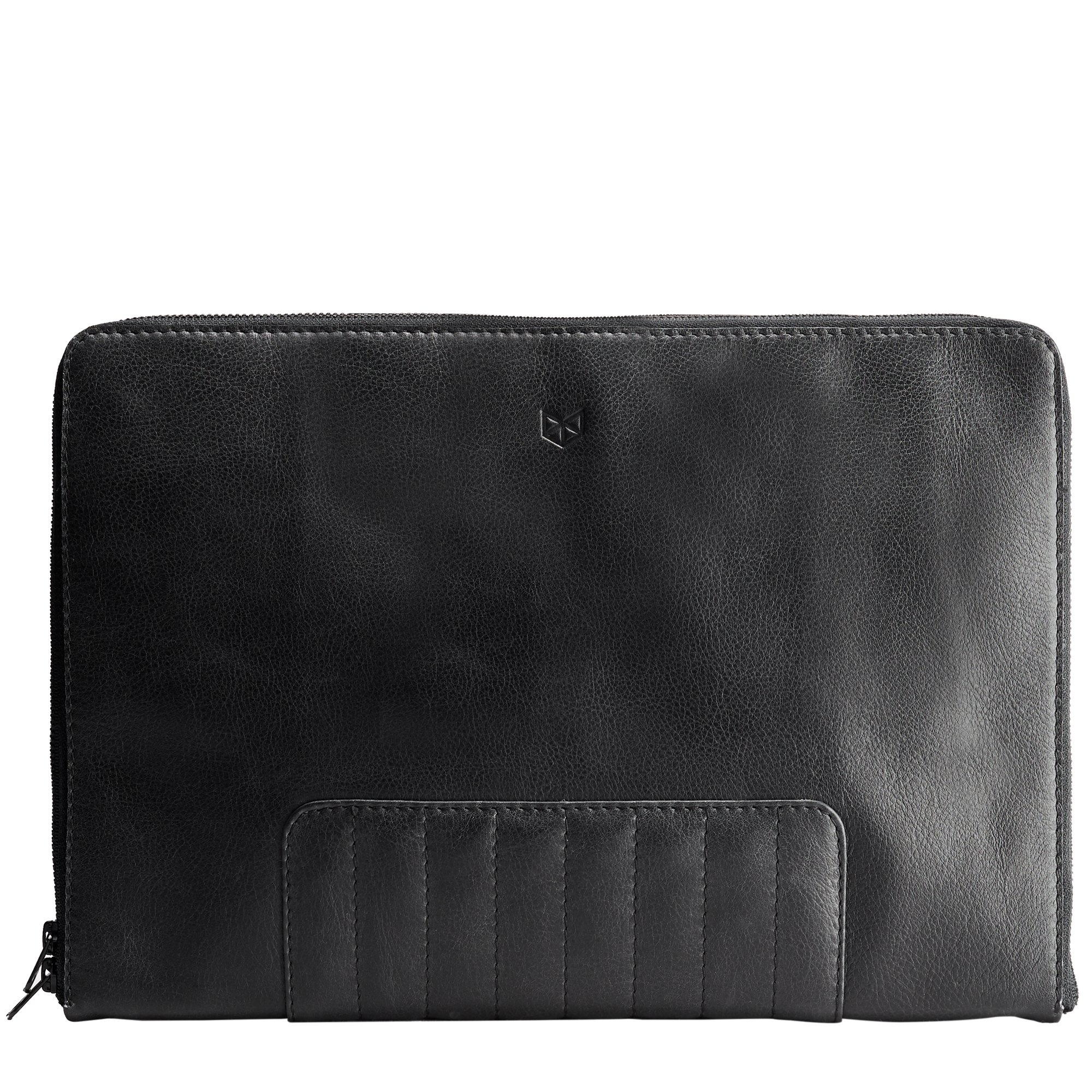 Biker Laptop Portfolio - Black