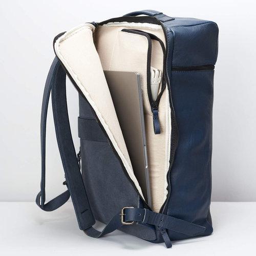 Capra Leather Banteng - Ocean Blue