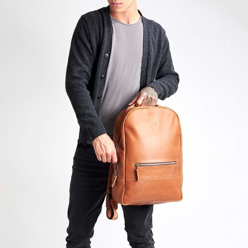 Capra Leather Bisonte - Tan
