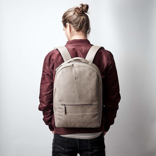 Capra Leather Bisonte - Grey