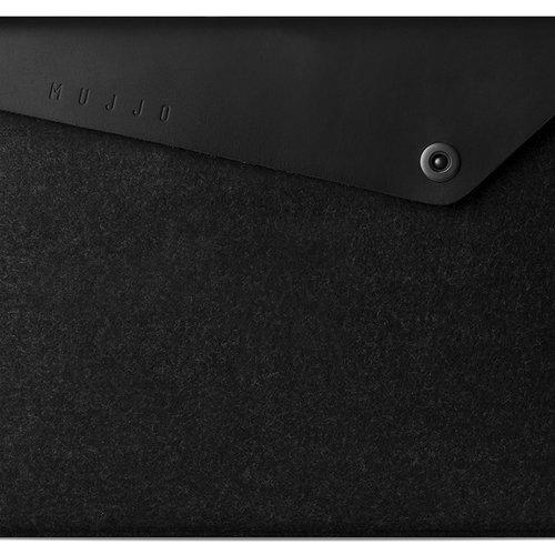 """Mujjo 13"""" MacBook Pro & Air Sleeve - Black"""