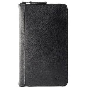 Capra Leather Paspoort Etui - Black