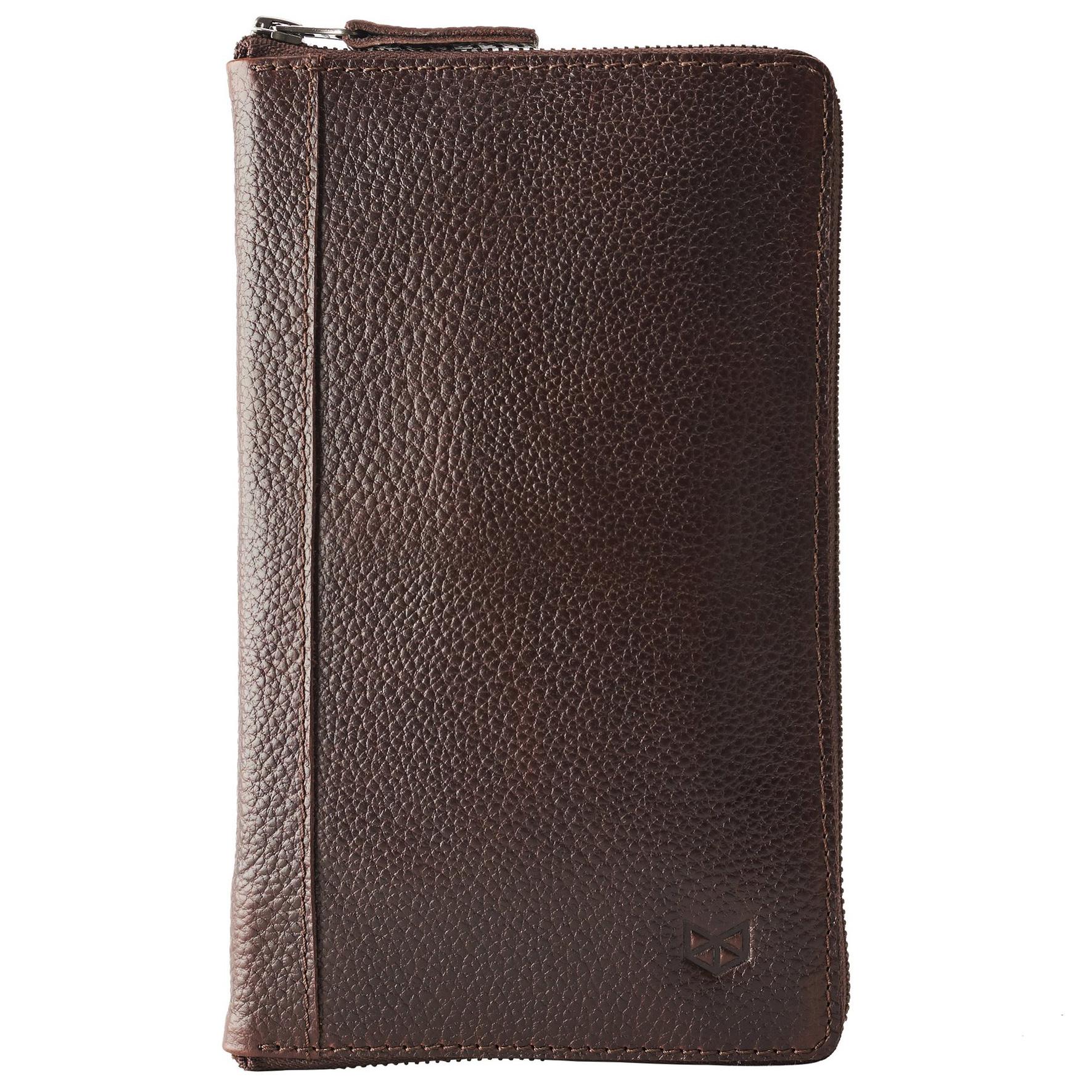 Passport Holder - Dark Brown