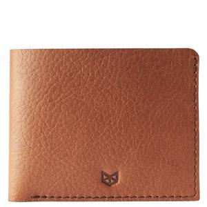 Capra Leather Slim Wallet Set - Tan