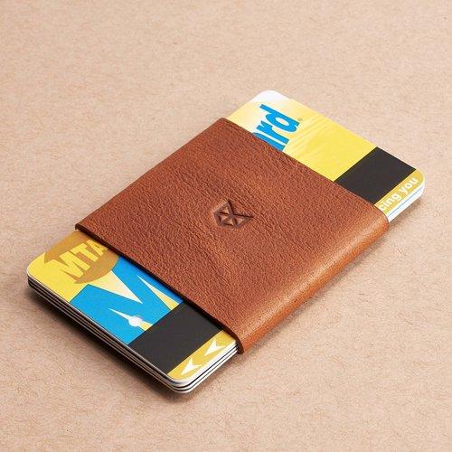 Capra Leather Slim Wallet Kit - Tan