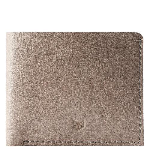 Capra Leather Slim Wallet Set - Grey