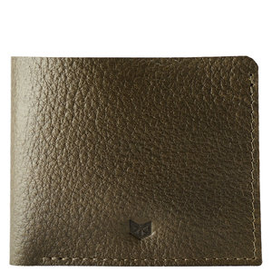 Capra Leather Slim Wallet Set - Military Green