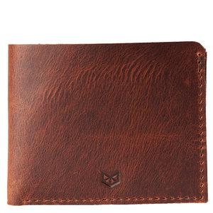 Capra Leather Slim Wallet Set - Sandstone