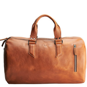 Capra Leather Duffel - Tan