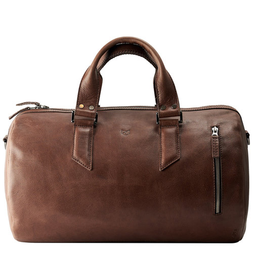 Capra Leather Duffel - Tobacco